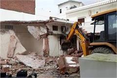 pda bulldozer fired at atik ahmed s house