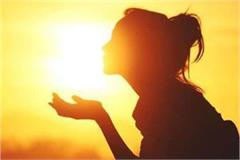 depression also drives away sun bath