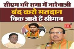 stop voting in the meeting of cm shivraj and uma bharti