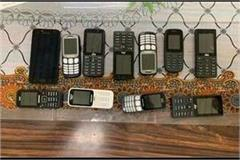 19 mobile phones found in district modern jail within a week