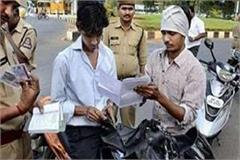 up police strict challan of 1959 people ignoring traffic rules in lucknow