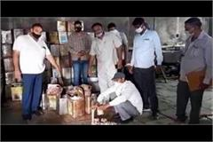 cm flying busts factory for making unlicensed sausages and maggi