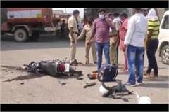 two died in road accident in hansi