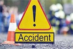 auto collides with bus 4 years old including 2 year old girl