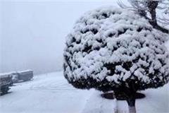 snowfall in himachal and j and k rain in punjab haryana