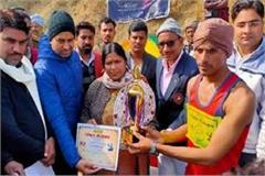 chambal marathon jawan atul dubey completed the record by completing race