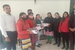 books distributed to poor girl students anniversary savitri bai phule