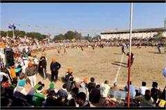 kabaddi competition organized to raise financial support for martyred farmers