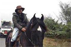 horse rider will join the tractor parade of 26 january