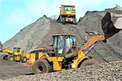 illegal mining goods including sand loaded tractor trails recovered