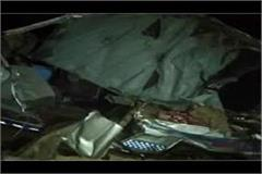 8 members of a family died in road accident at tonk rajasthan