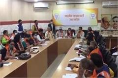up bjp preparing for assembly elections with panchayat elections