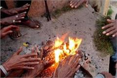 cold wave in mp due to western disturbance