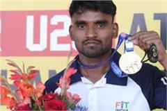 athletics sunil dawar made new national record in 1500 mtr race