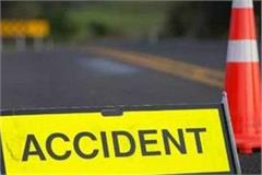 two killed and two injured in a collision between two vehicles in khagaria