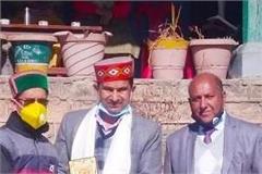 yashwant joshi awarded for spreading awareness about covid 19