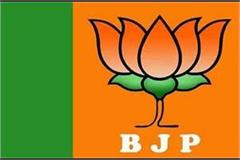 bjp released the list of 8 city council candidates
