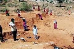 basti 10 thousand people got employment under mnrega scheme