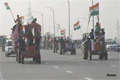 thousands of deshkap tractors leave for ghazipur in support of bku