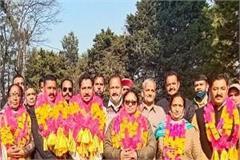 jitendra becomes the supreme chairman of sundernagar city council