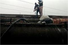 illegal black oil factory sealed in sonipat