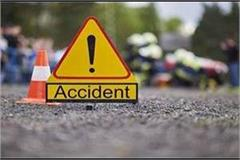 road accident 4 people of same family died in bus car collision