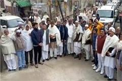 desh khap chaudhary landed in support of farmer movement delhi with ration