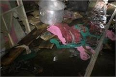 sudden fire in tent house warehouse death of 2 innocent