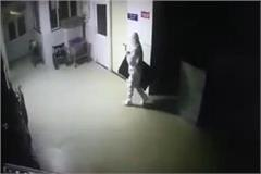 the thief who came wearing a ppe kit and went to the hospital