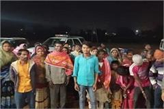 52 laborers held hostage in maharashtra returned safely