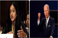 aligarh s daughter vanita joins us president joe biden s team