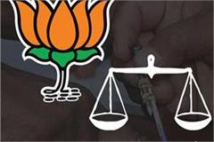 bjp is civic elections without akali dal