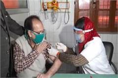 corona vaccine vaccination started in gorakhpur too