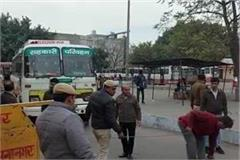 challan will be done if private vehicle enter in jagadhri bus stand