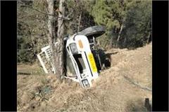 pickup rolled into the ditch driver killed