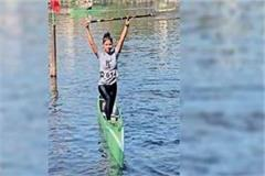 now kaveri becomes asia s no 1 player in canoeing