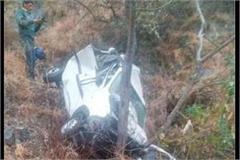 car falls into a ditch at biyana turn two killed
