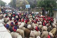 farmers protest before ashwini sharma reaches sangrur