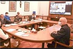 manohar lal s meeting with finance minister nirmala sitharaman end
