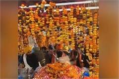 farmers decorated nagar kirtan on singhu border