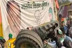 tractor overturns while showing acrobatics on delhi noida border