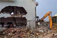 operation mafia  continues in prayagraj pda bulldozer for atik s special