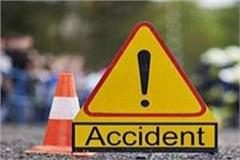 one person died after being crushed by unknown vehicle in bhagalpur