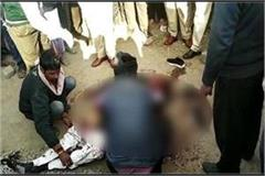 contractor brutally murdered in panna