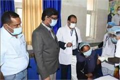 corona vaccine installed at 3 centers in rampur