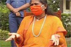sadhvi niranjan jyoti stunned on akhilesh said  pity comes on his thinking