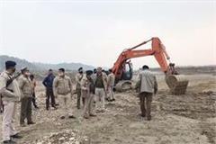 pokelane seized while doing illegal mining in swan ravine