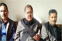 ramlal thakur accuses serious allegations on bjp spokesperson randhir sharma