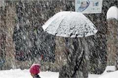 weather will change from january 23 chances of rain snowfall