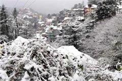 heavy rain snowfall warning in himachal